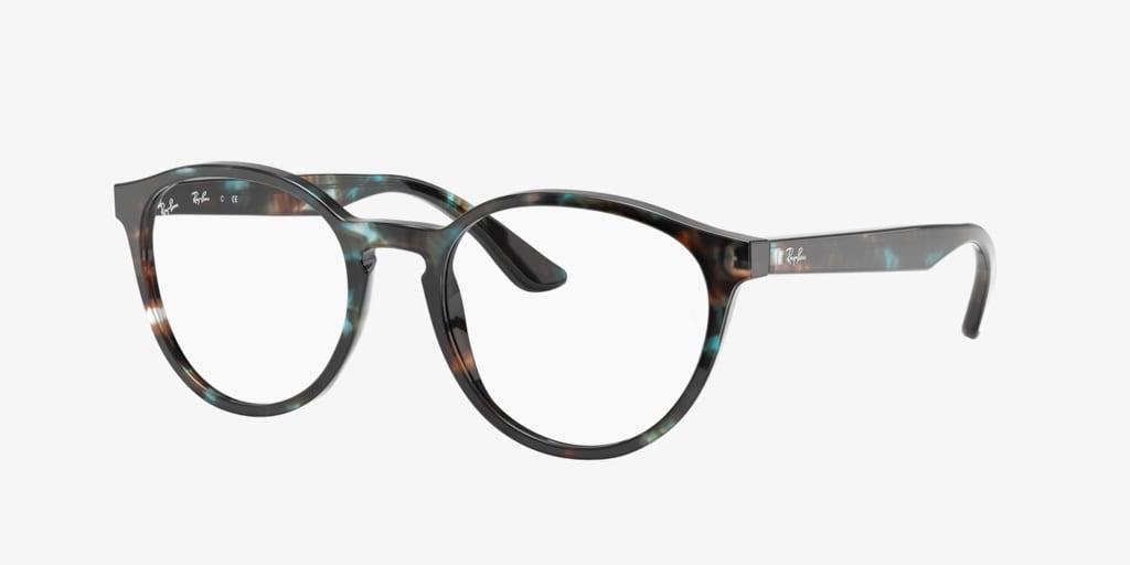 Ray-Ban RX5380 Havana Opal Light Blue Eyeglasses