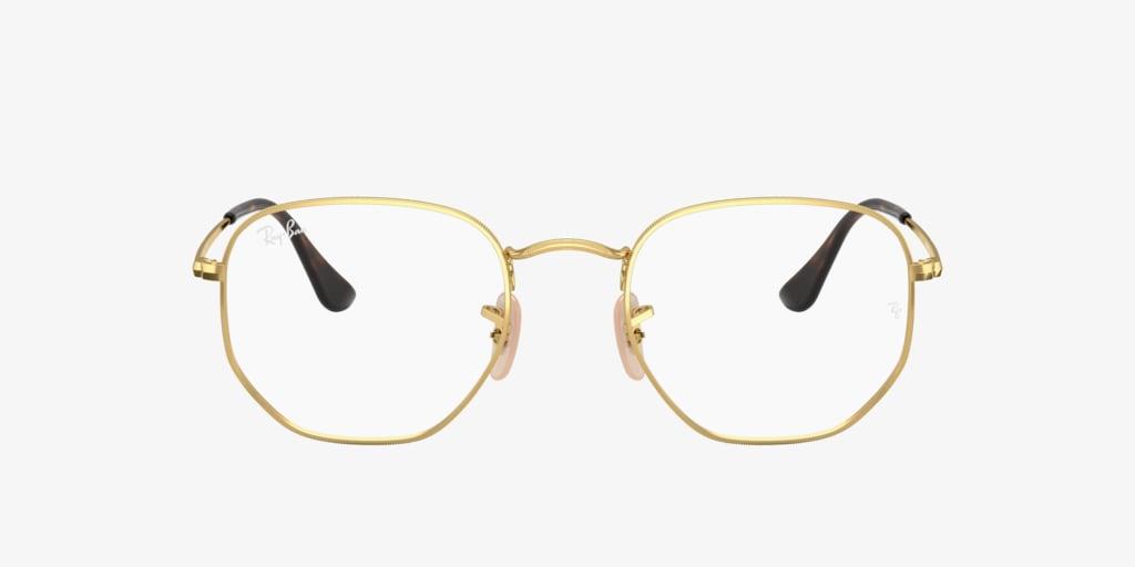 Ray-Ban RX6448 Gold Eyeglasses
