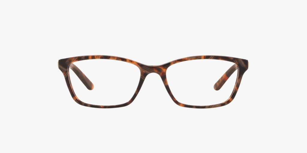 Ralph RA7044 Shiny Brown Marble Eyeglasses