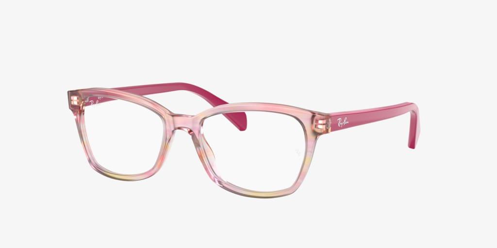 Ray-Ban Jr RY1591 Fuchsia Striped Multicolor Eyeglasses