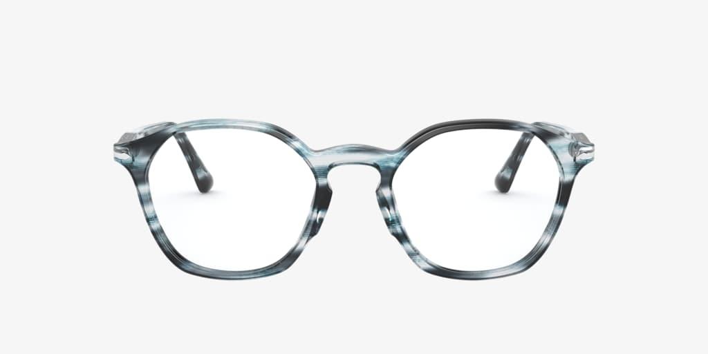 Persol PO3238V Striped Grey Eyeglasses