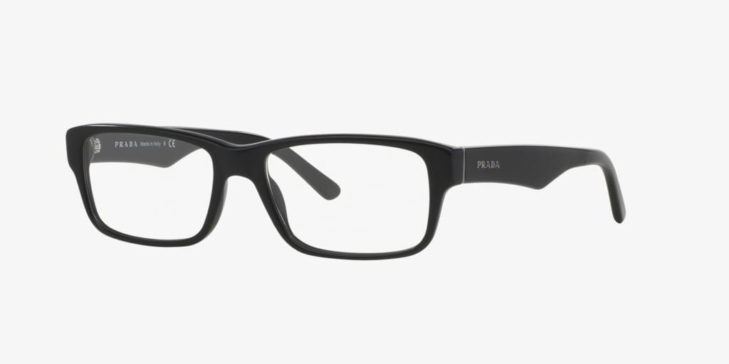 Prada PR16MV Matte Black Eyeglasses