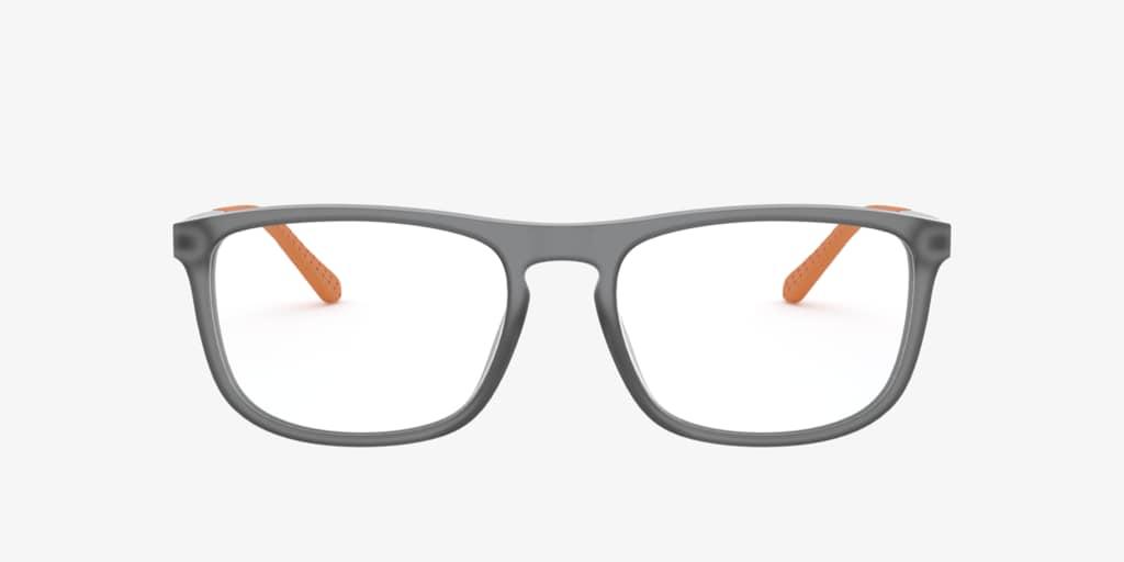Ralph Lauren RL6197 Matte Transparent Grey Eyeglasses