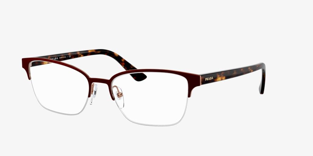 Prada PR 61XV MILLENNIALS Bordeaux/Havana Eyeglasses