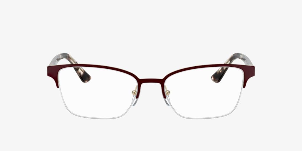 Prada PR 61XV MILLENNIALS Bordeaux/Gold Eyeglasses