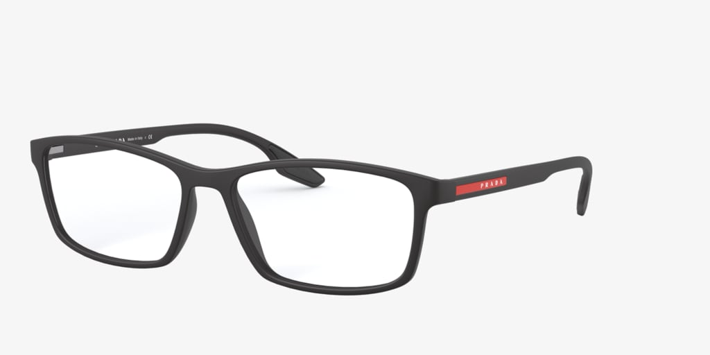 Prada Linea Rossa PS 04MV Matte Black Eyeglasses
