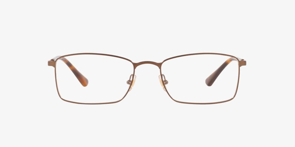 Brooks Brothers BB1073T Matte Brown Eyeglasses