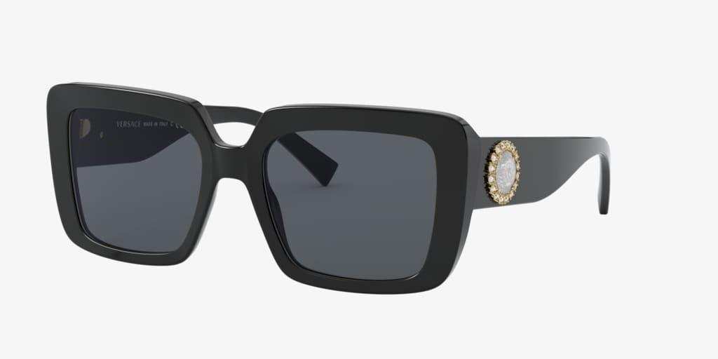Versace VE4384B 54 Black Sunglasses