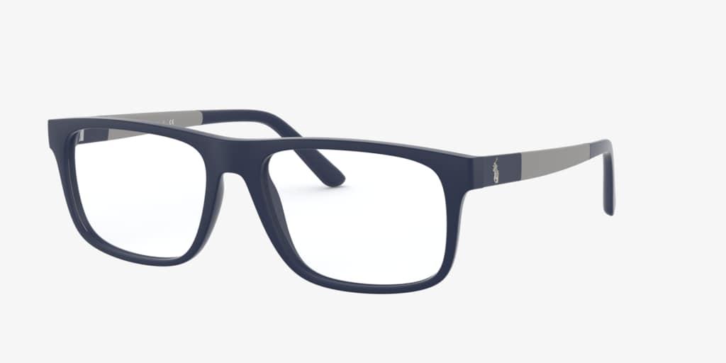 Polo Ralph Lauren PH2218 Matte Navy Blue Eyeglasses