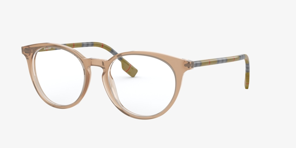 Burberry BE2318 Transparent Brown Eyeglasses