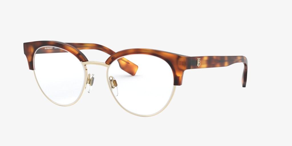 Burberry BE2316 Light Havana/Pale Gold Eyeglasses