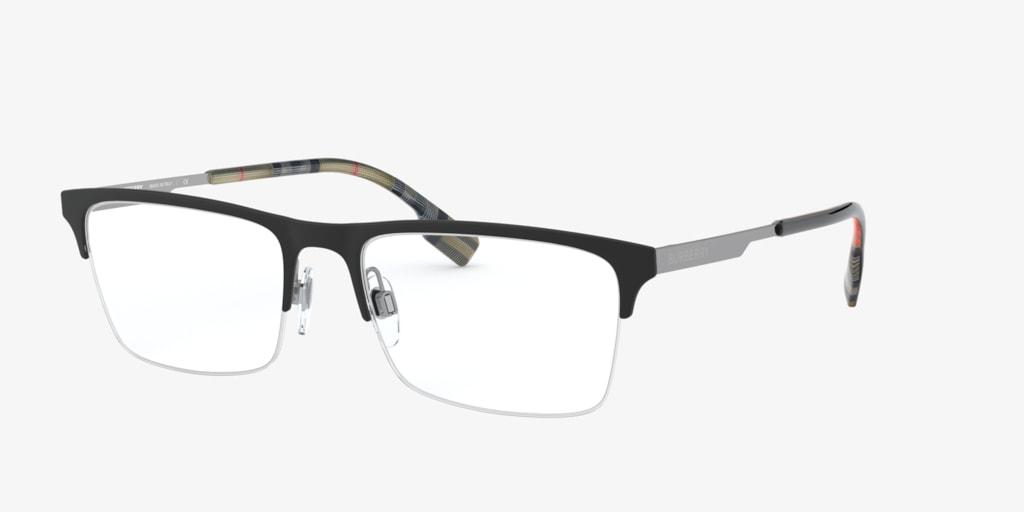 Burberry BE1344 Matte Black Eyeglasses