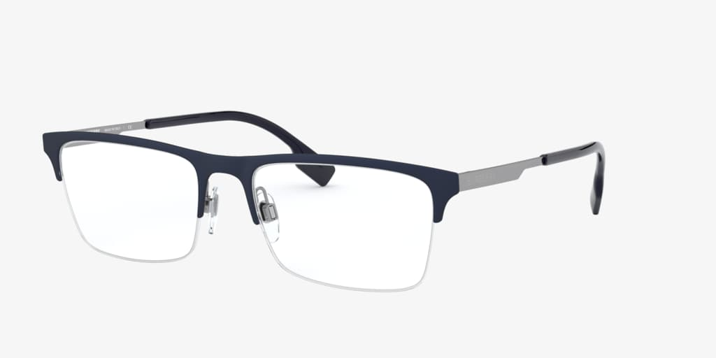 Burberry BE1344 Matte Blue Eyeglasses