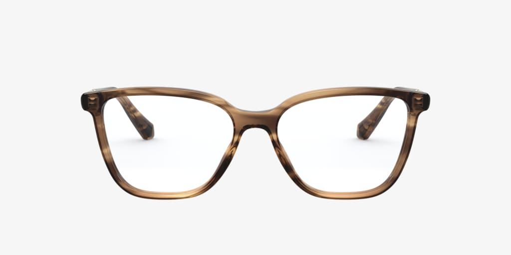 Bulgari BV4184B Striped Brown Eyeglasses