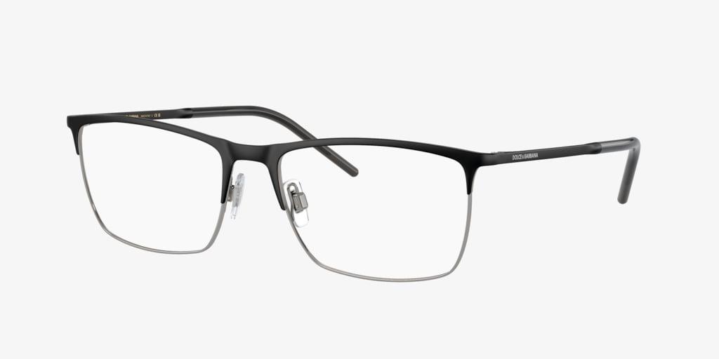 Dolce&Gabbana DG1309 Matte Black/Gunmetal Eyeglasses