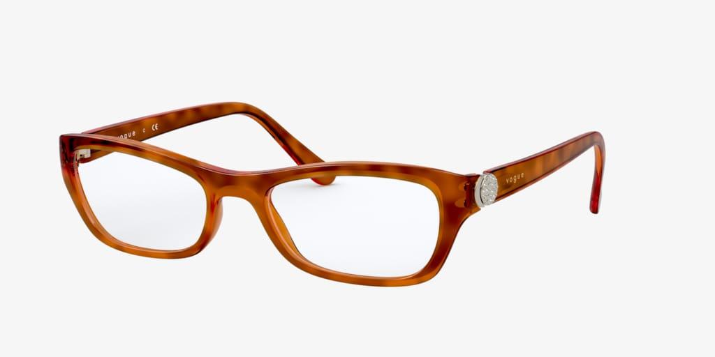 Vogue VO5306B Yellow Tortoise Eyeglasses