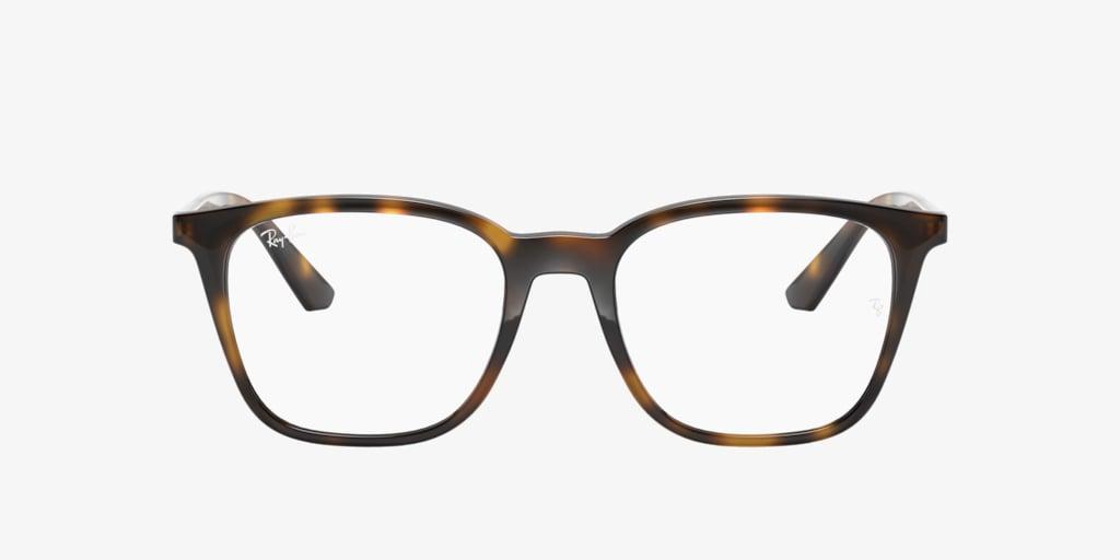 Ray-Ban RX7177 Havana Eyeglasses