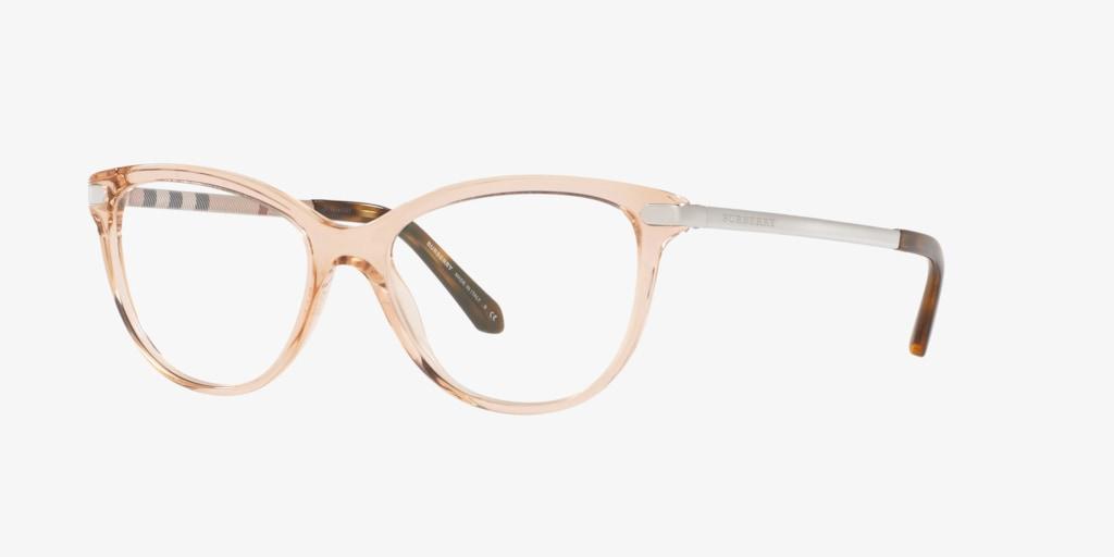 Burberry BE2280 Transparent Peach Eyeglasses