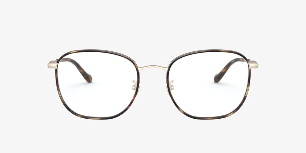 Giorgio Armani AR5105J Brown Havana/Pale Gold Eyeglasses