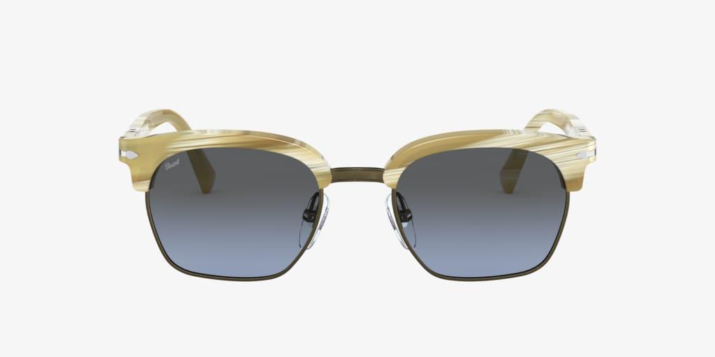Persol PO3199S 53 Striped Ivory Sunglasses