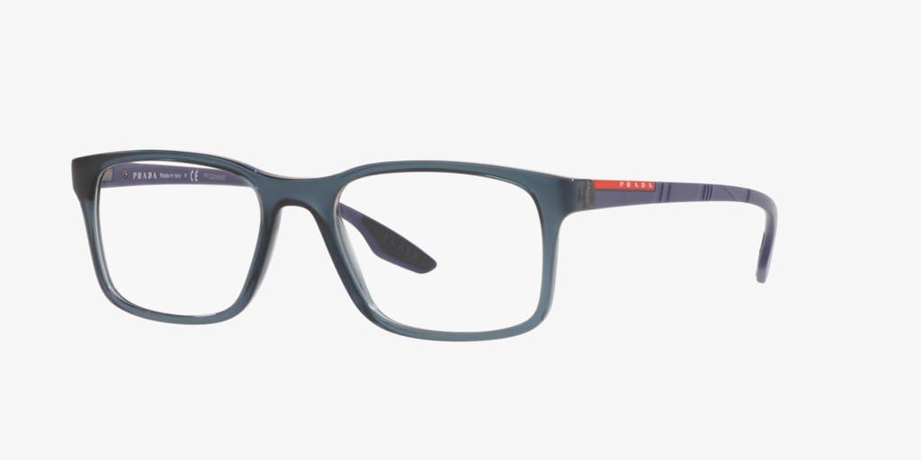 Prada Linea Rossa PS 01LV LIFESTYLE Blue Eyeglasses