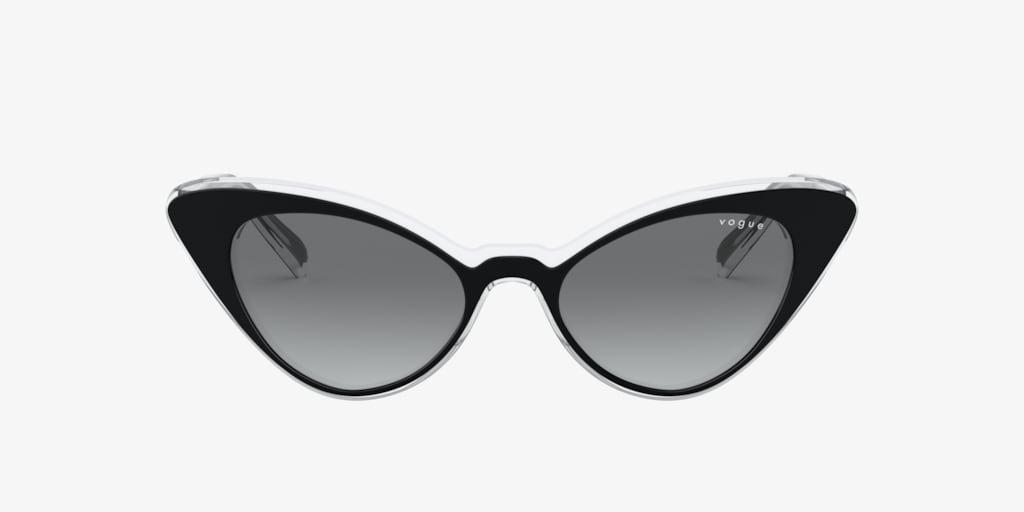 Vogue VO5317S 49 Black on Transparent Sunglasses