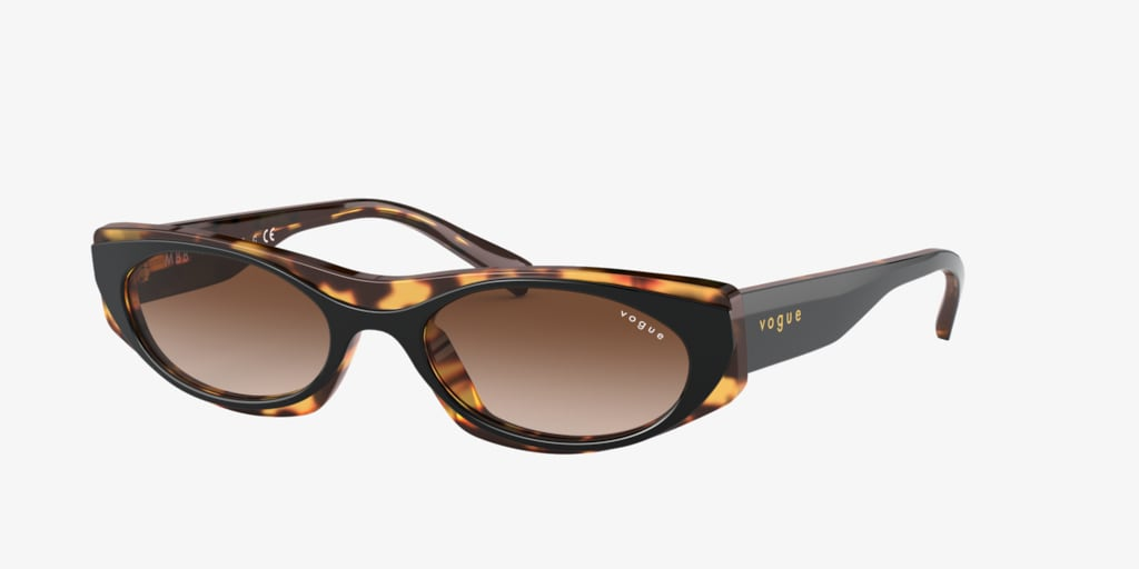 Vogue VO5316S 52 Black/Havana Sunglasses