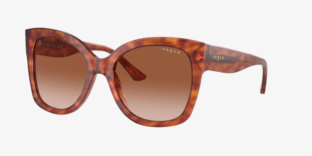 Vogue VO5338S 54 Yellow Tortoise Sunglasses
