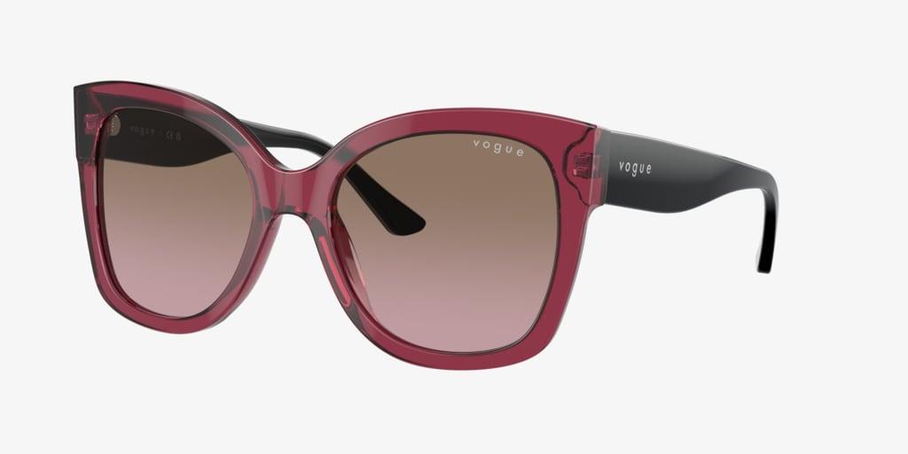Vogue VO5338S 54 Transparent Cherry Sunglasses