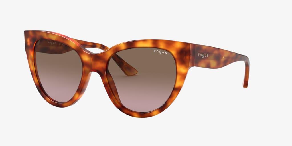 Vogue VO5339S 52 Yellow Havana Sunglasses