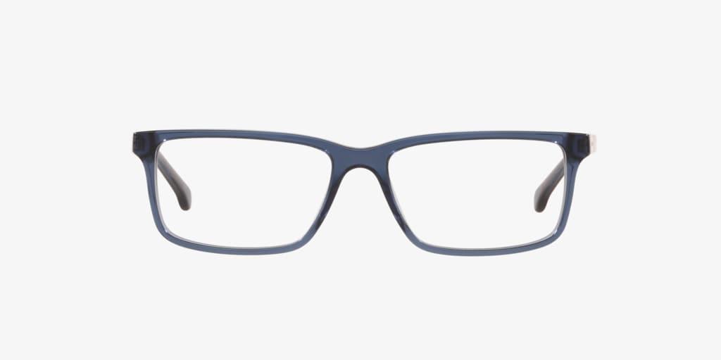 Brooks Brothers BB2019 Transparent Dark Blue Eyeglasses