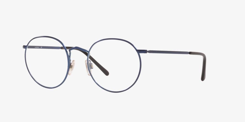 Lenscrafters EC1001 Matte Blue Eyeglasses