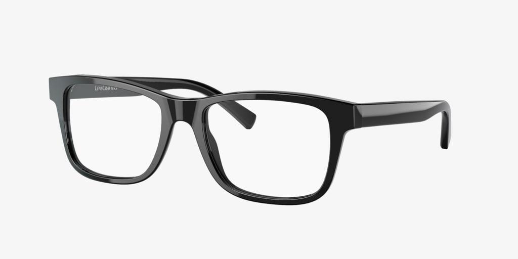 Lenscrafters EC2002 Black Eyeglasses