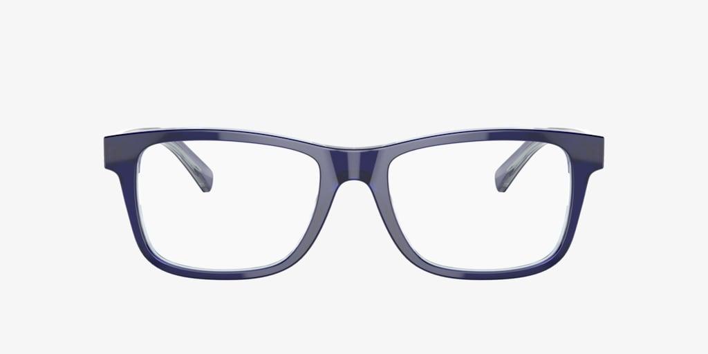 Lenscrafters EC2002 Blue Eyeglasses