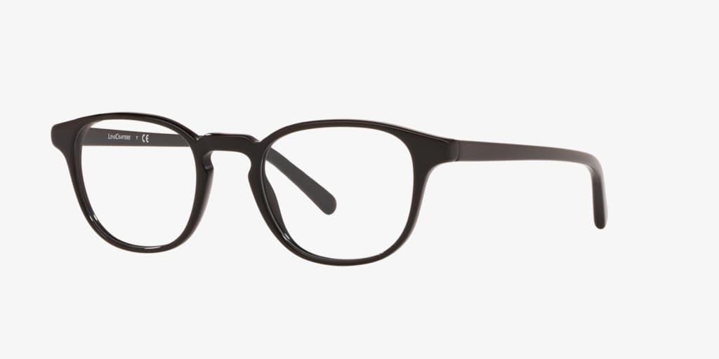 Lenscrafters EC2004 Black Eyeglasses