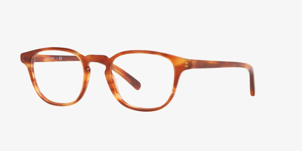 Lenscrafters EC2004 Havana Honey Eyeglasses