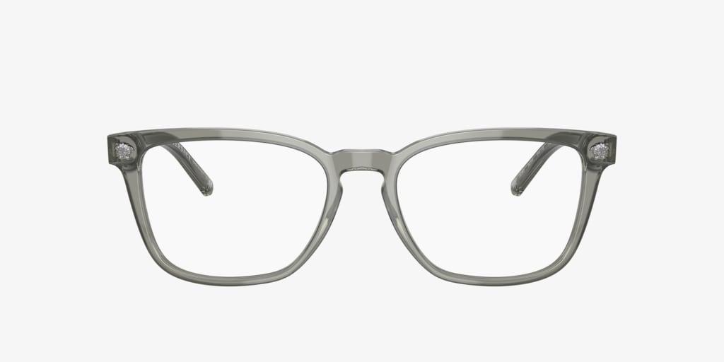 Versace VE3290 Transparent Grey Eyeglasses