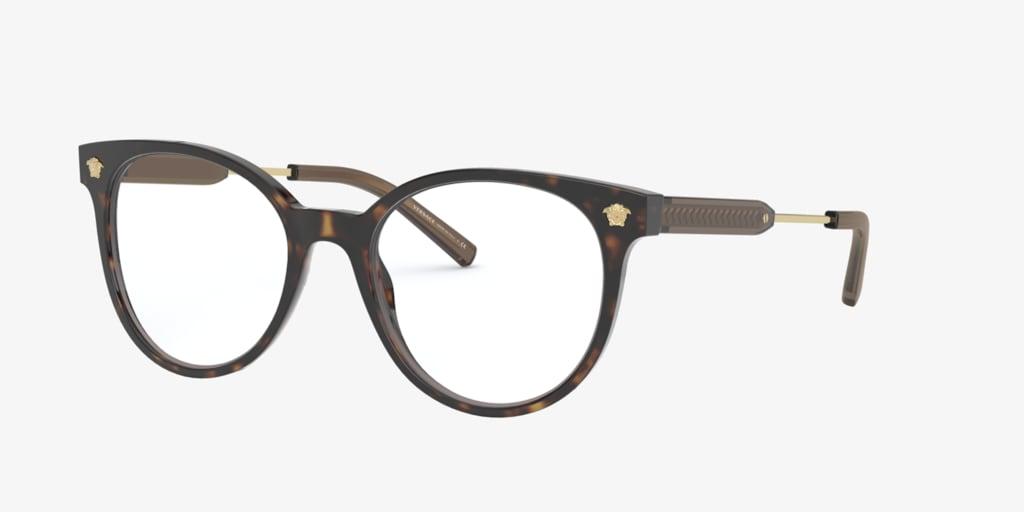 Versace VE3291 Havana Eyeglasses