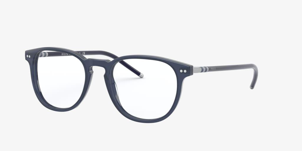 Polo Ralph Lauren PH2225 Shiny Transparent Blue Eyeglasses