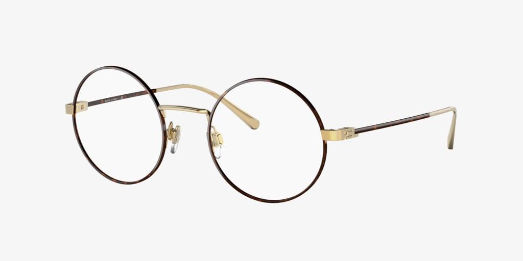 Ralph Lauren RL5109 Havana on Shiny Gold Eyeglasses