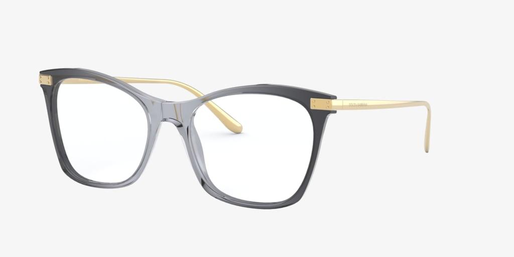 Dolce&Gabbana DG3331 Grey On Gold Eyeglasses