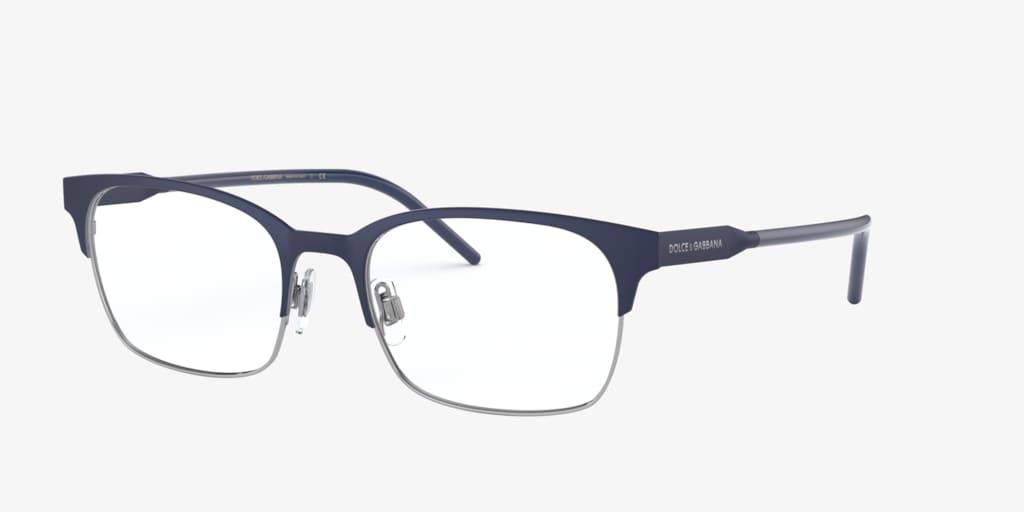 Dolce&Gabbana DG1330 Matte Blue/Gunmetal Eyeglasses