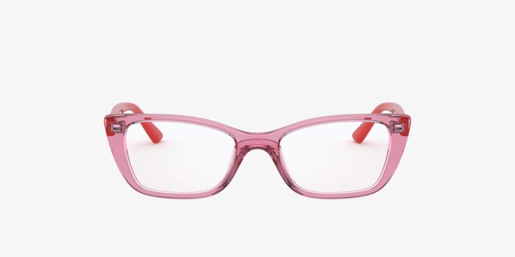 Vogue Jr V VY2004 Pink On Transparent Eyeglasses