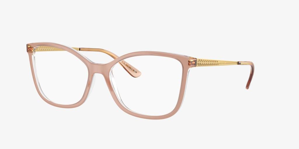 Vogue VO5334 Pink On Transparent Eyeglasses