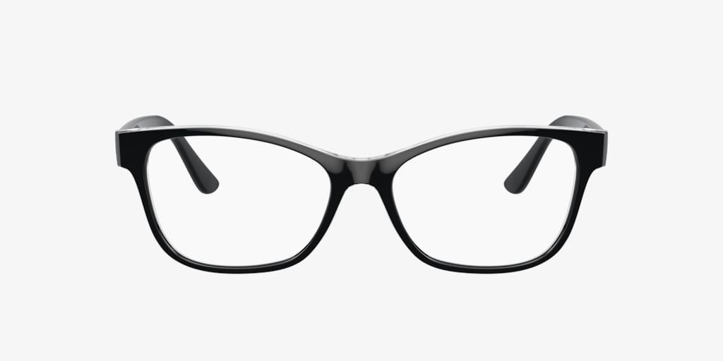 Vogue VO5335 Black on Transparent Eyeglasses