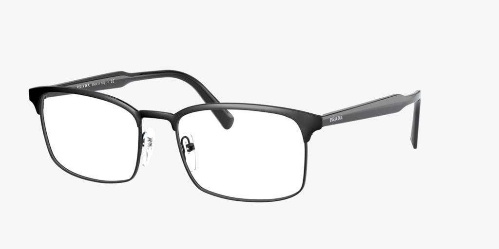 Prada PR 54WV Black Eyeglasses