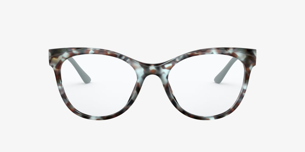 Prada PR 05WV Blue/Brown Eyeglasses