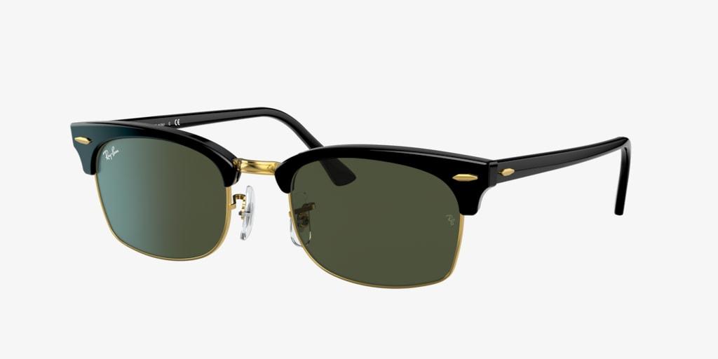 Ray-Ban CLUBMASTER SQUARE Black Sunglasses