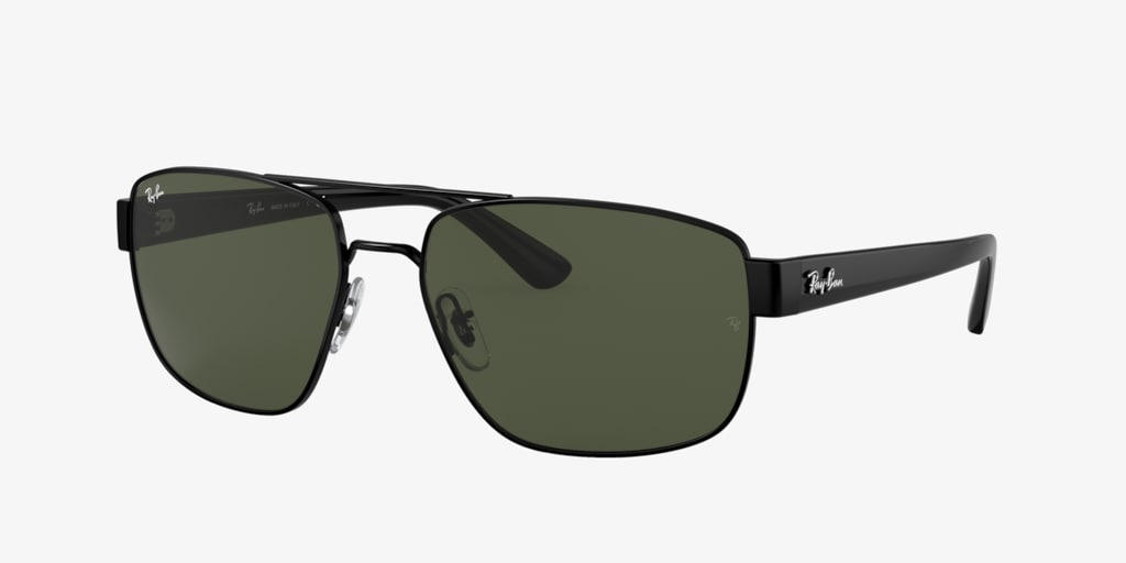 Ray-Ban RB3663 60 Black Sunglasses