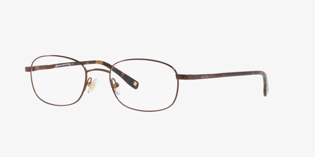 Brooks Brothers BB 363 Satin Dark Brown Eyeglasses